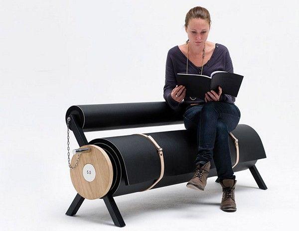 Креативный диван-валик
