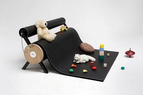Великолепный диван-валик