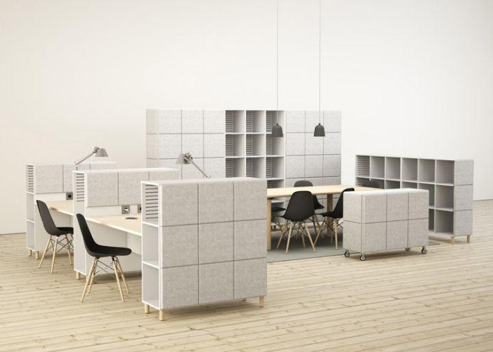 Utmerkede lagringssystemer i form av filtblokker