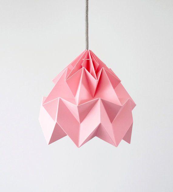 Головокружительный подвесной светильник в виде оригами