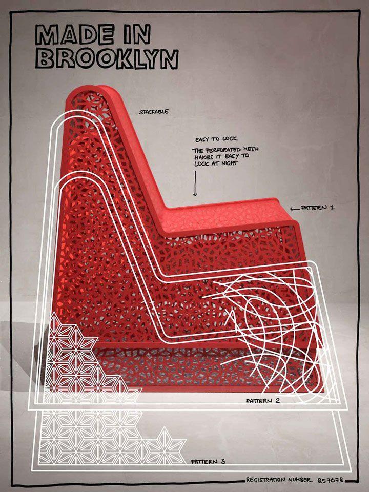 Етапи на създаване на метален стол