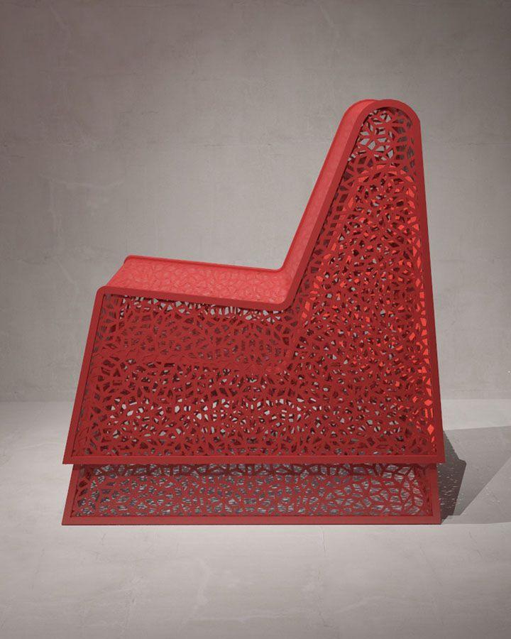 Уникален фотьойл - изглед отстрани