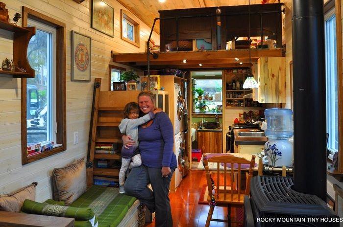Проект американской архитектурной фирмы Rocky Mountain Tiny Houses.