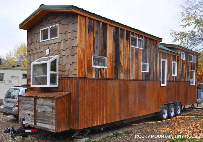 Дом площадью 38 кв. метров, который можно взять с собой в дорогу.