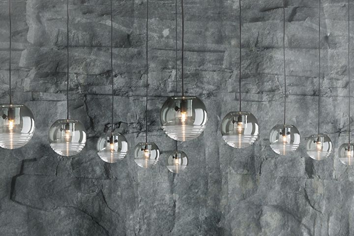 Подвесные стеклянные светильники Flask от Tom Dixon Studio