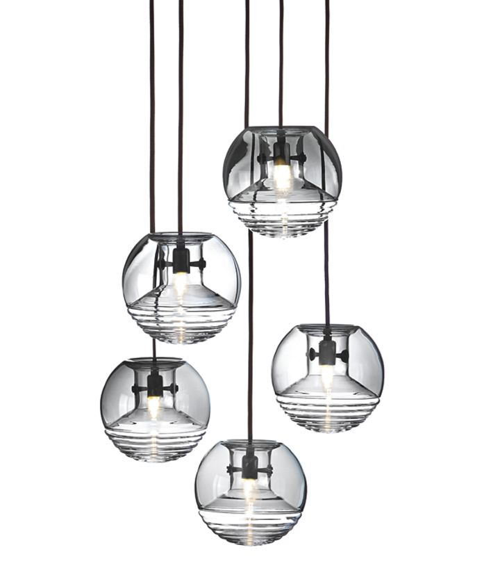 Стеклянные светильники Flask от Tom Dixon Studio