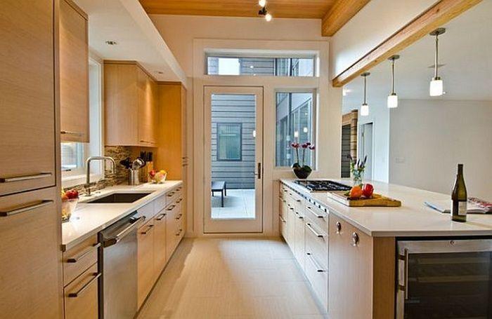 Опция за дизайн на кухня в светли цветове, която определено ще зарадва и вдъхнови.