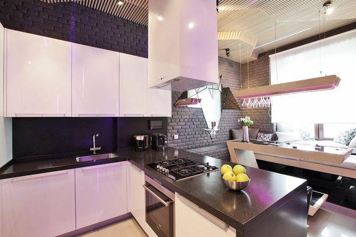 Просто зашеметяващ кухненски интериор, който ще бъде богатство и най-доброто решение.