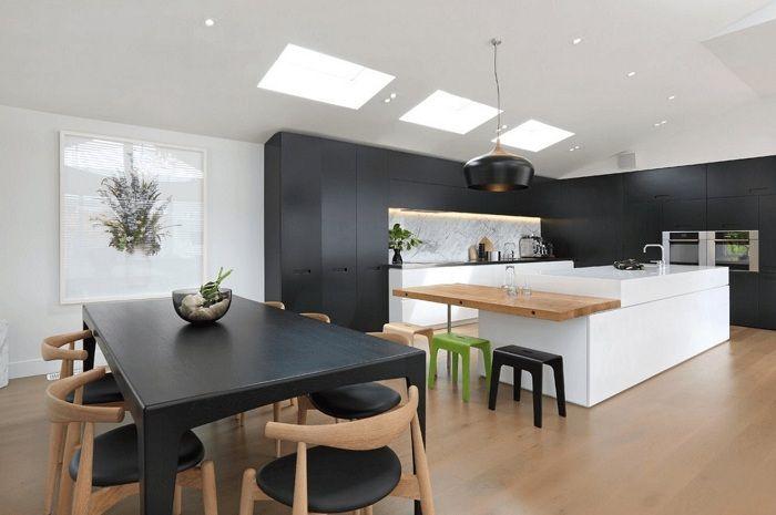 L'une des meilleures options de conception de cuisine dans un design brillant que vous aimerez certainement.