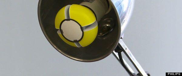 Металлический флакон светодиодной лампы