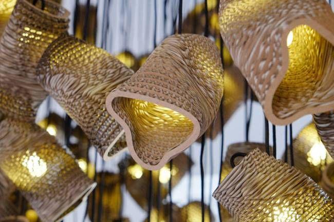 Дизайн ламп из картона - Фото 4