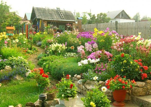 Цветни лехи в страната