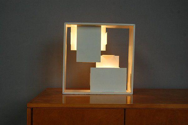 Лампа Artemide Fato от италианския дизайнер Джовани Понт
