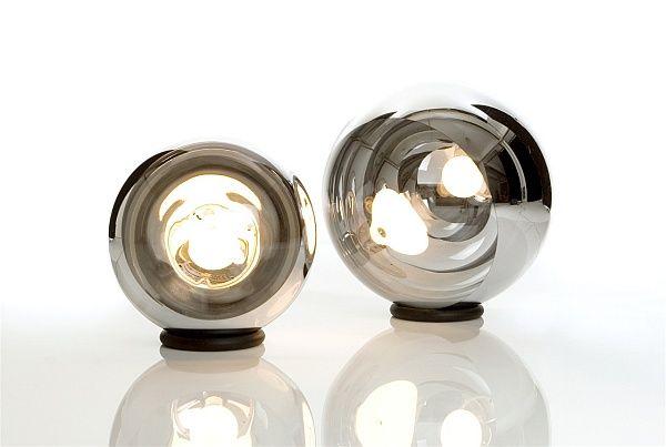 Невероятна кръгла лампа