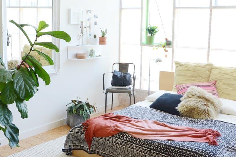 Møbler til loftet i det indre av huset