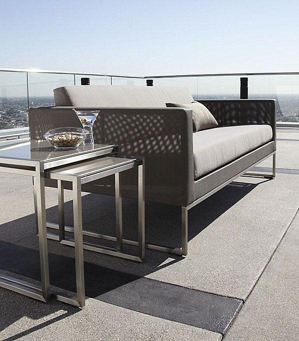 Дизайнерская мебель для террасы