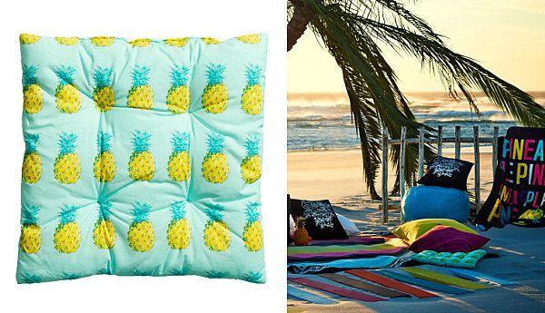 Дизайнерские пляжные подушки