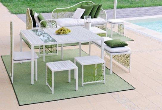 Une collection de meubles de jardin exquis