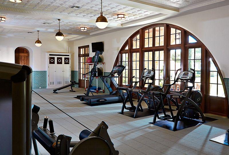 Moderne treningsstudio