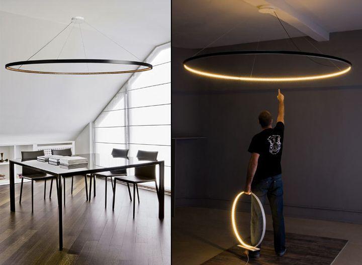 Большой подвесной светильник