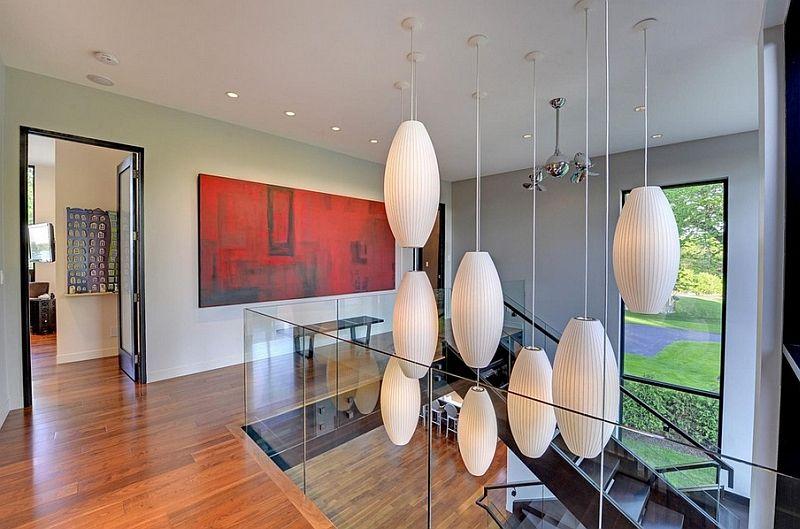 Hengende lamper i interiøret