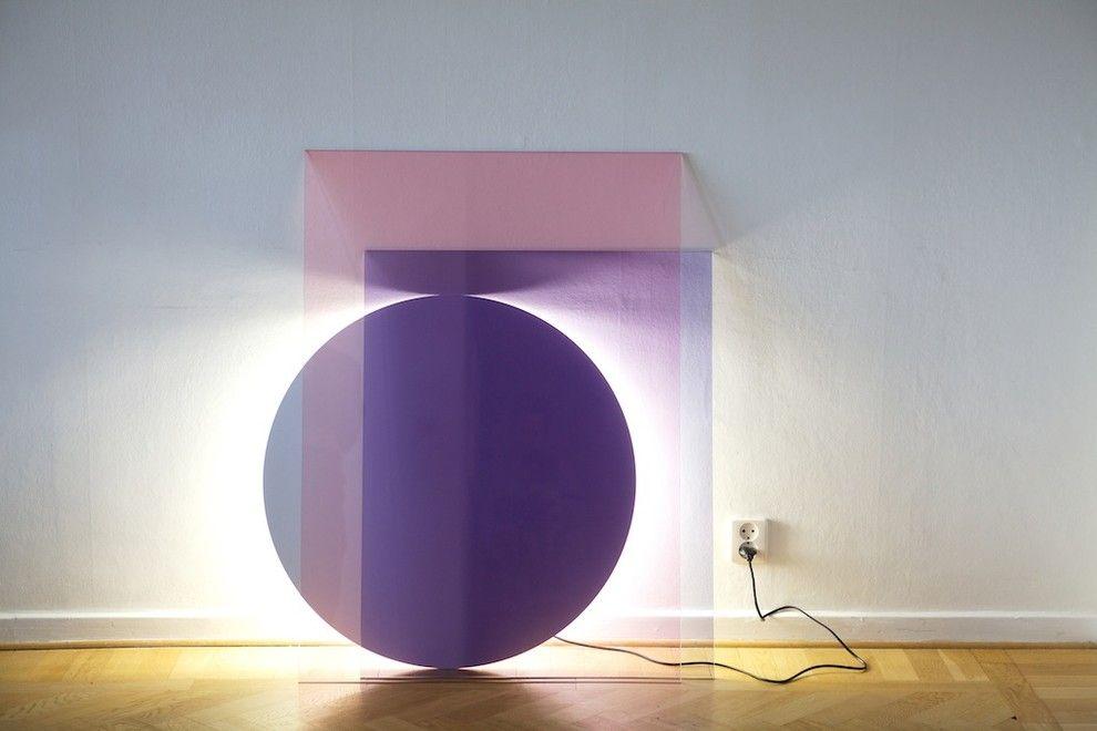 Необычный осветительный элемент Colour от специалистов Daniel Rybakken и Andreas Engesvik