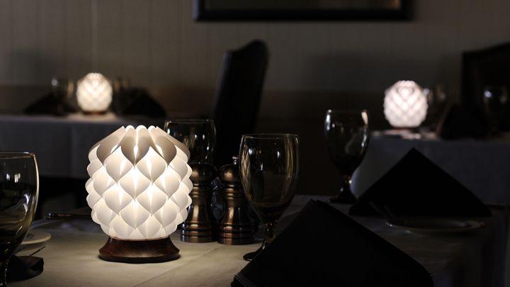 Красивые настольные лампы Kiem