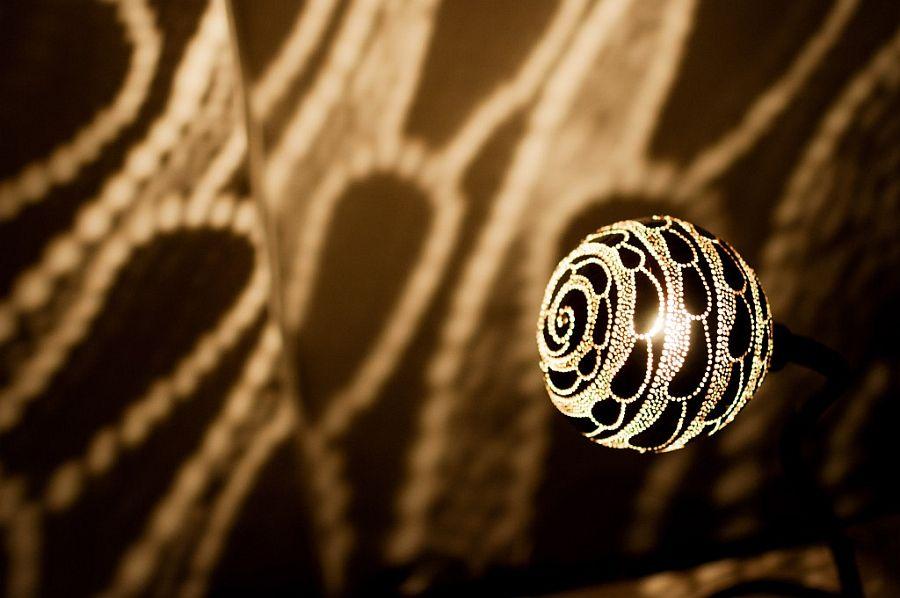 Обворожительный светильник Лампа Нимфы
