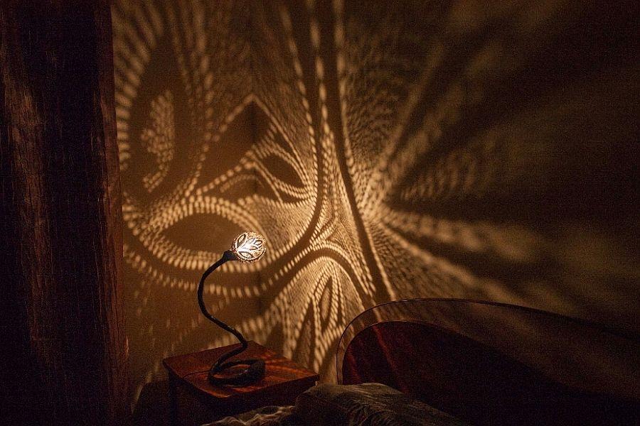 Роскошный светильник Лампа Нимфы