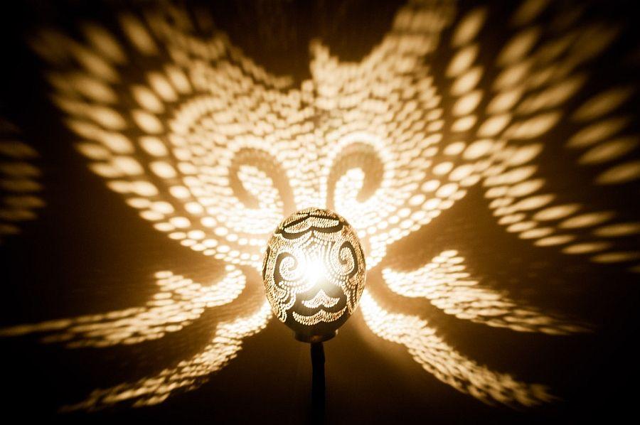 Красивый светильник Лампа Нимфы