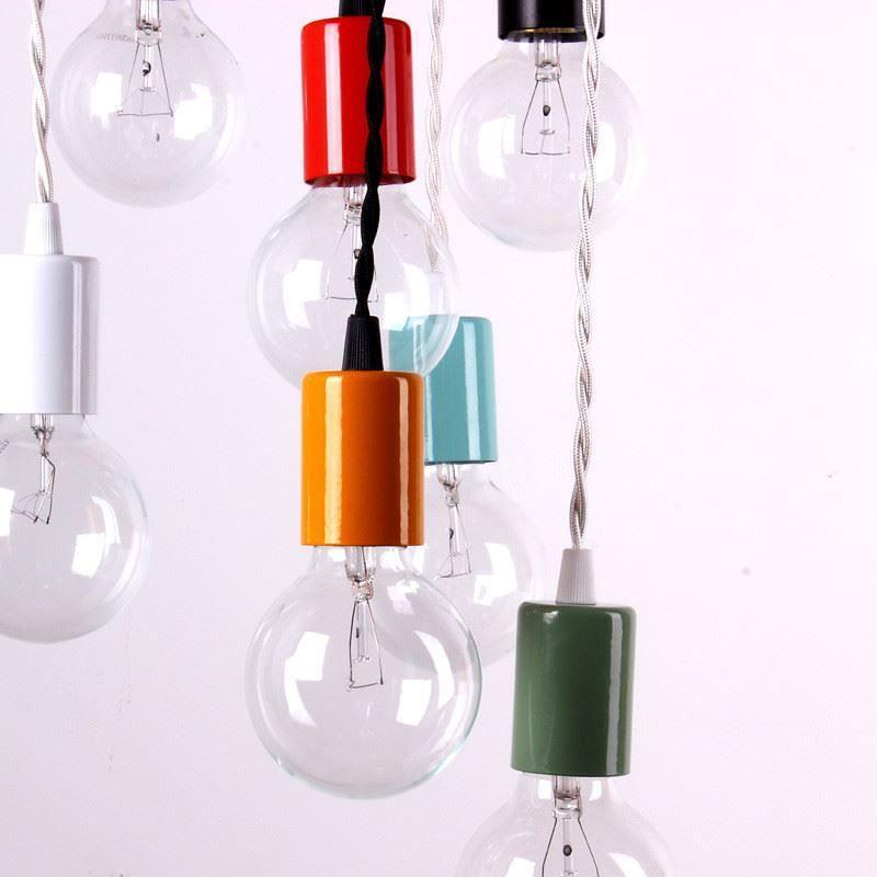 Цветные лампочки от onefortythree