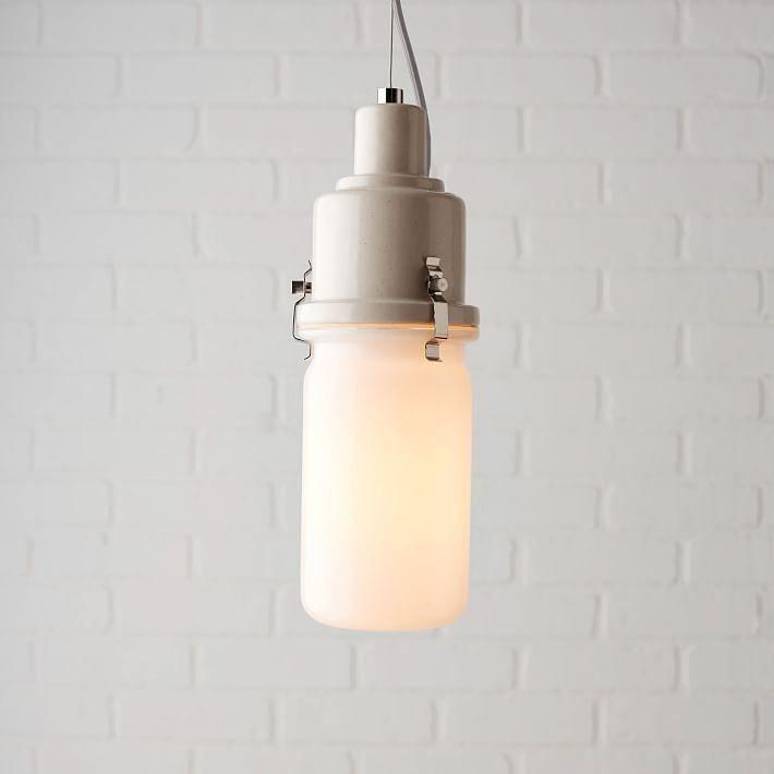 Интересная лампа от West Elm