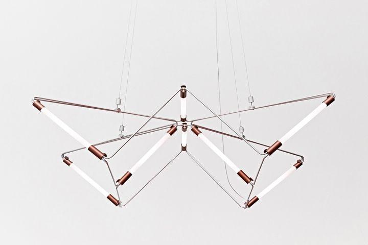 Уникальная люстра Mobi Customizable от дизайнера James Dieter