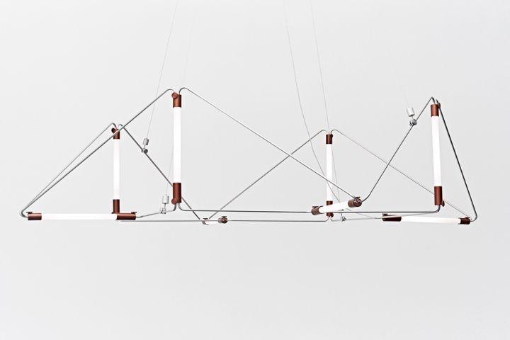 Превосходная люстра Mobi Customizable от дизайнера James Dieter
