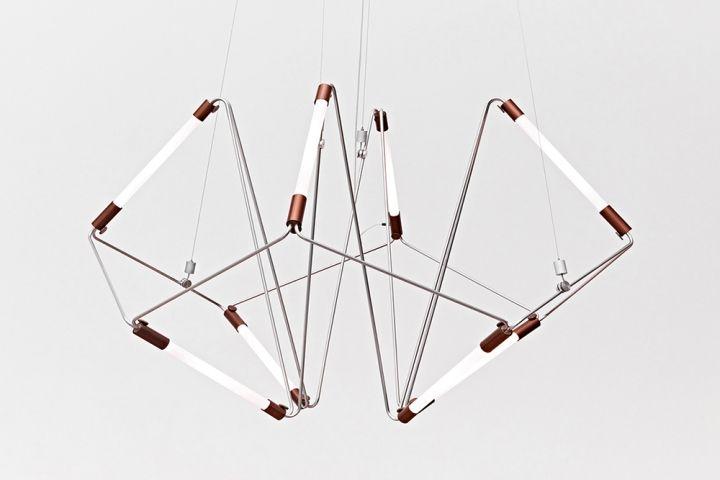 Красивая люстра Mobi Customizable от дизайнера James Dieter