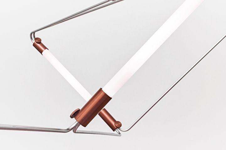 Лампы для люстры Mobi Customizable от дизайнера James Dieter