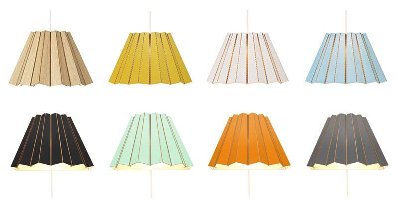 Цветовая гамма подвесных светильников