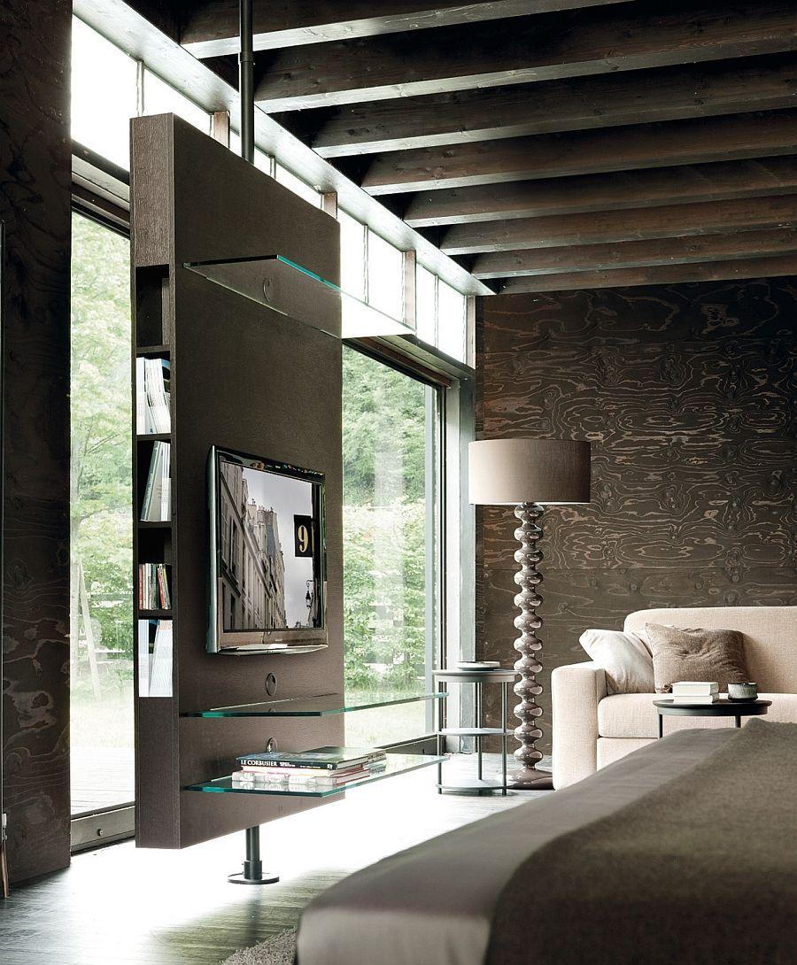 Възхитителна подова лампа в хола