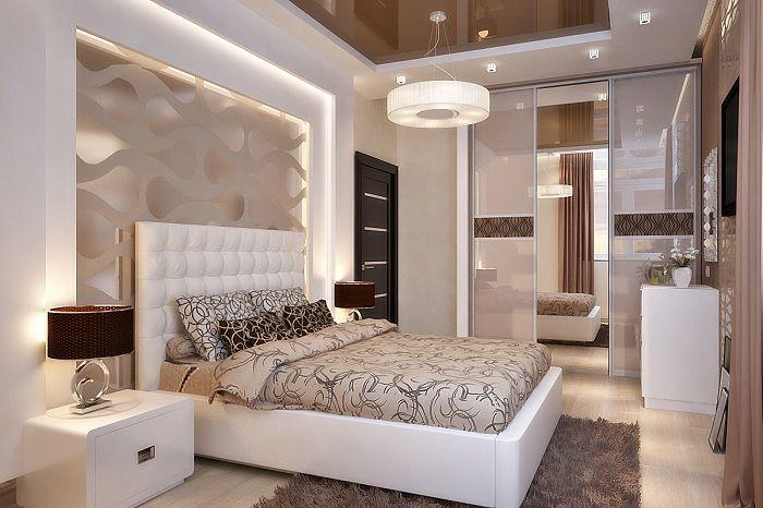 Прекрасен декор за спалня в светли и нежни цветове, което ще добави особен чар на интериора.