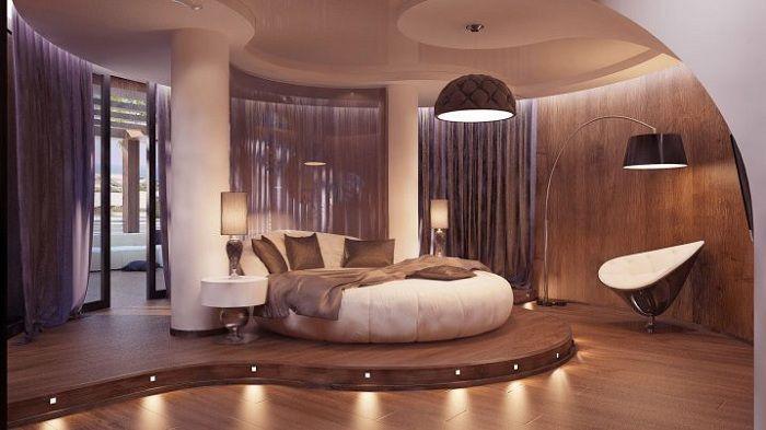 Отличен пример за декориране на спалня в меки и нежни кафеени нюанси.