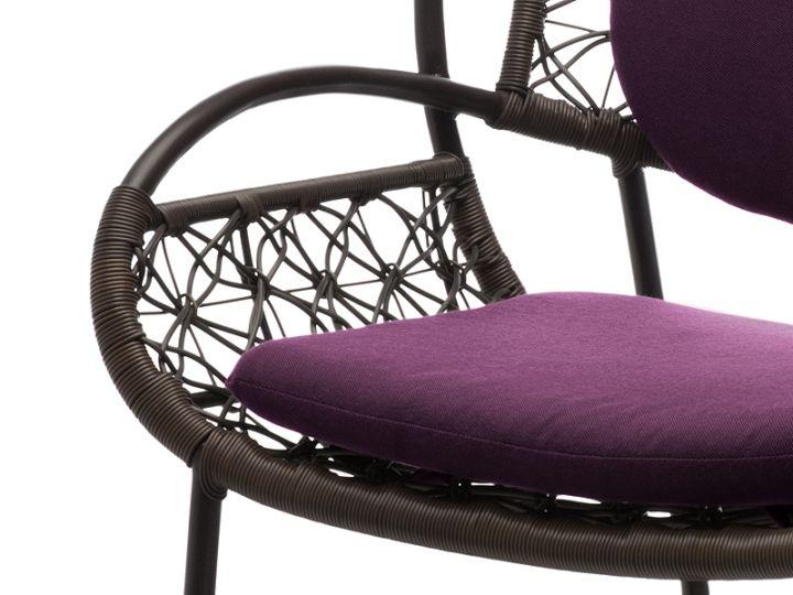 Тапицирана седалка от дизайнерския стол