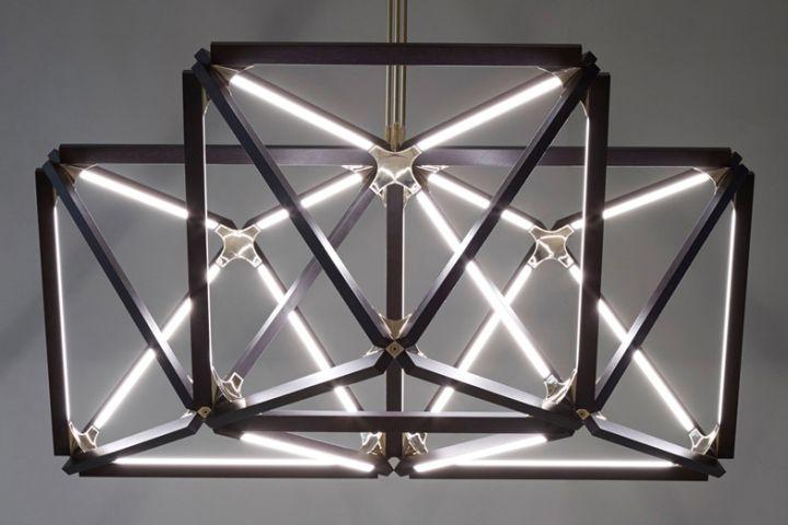 Креативный подвесной светильник из коллекции X от Rux