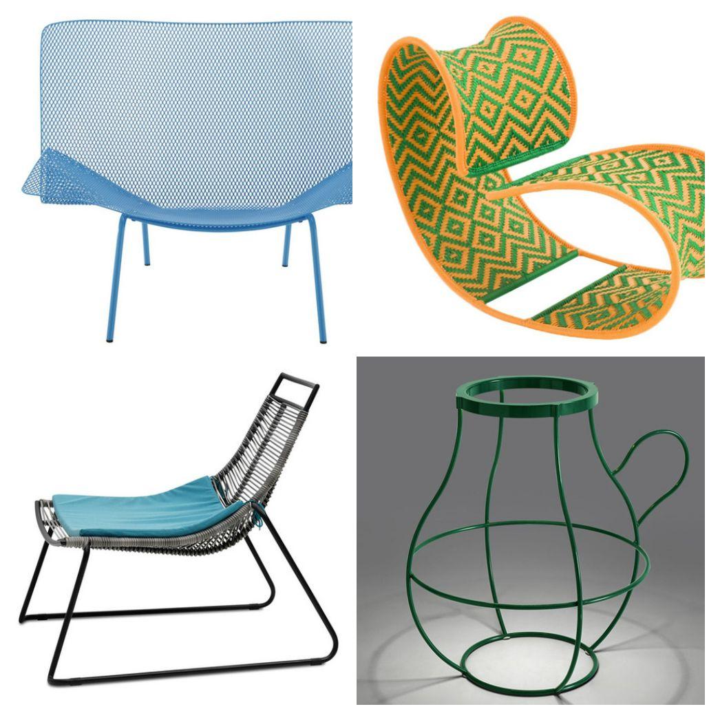 Оригинални градински мебели