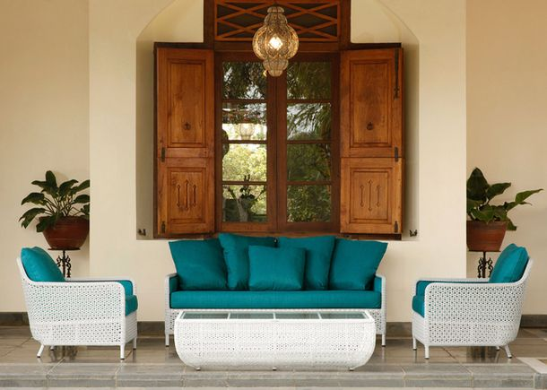 Комплект мебели от студио Barlow Tyrie