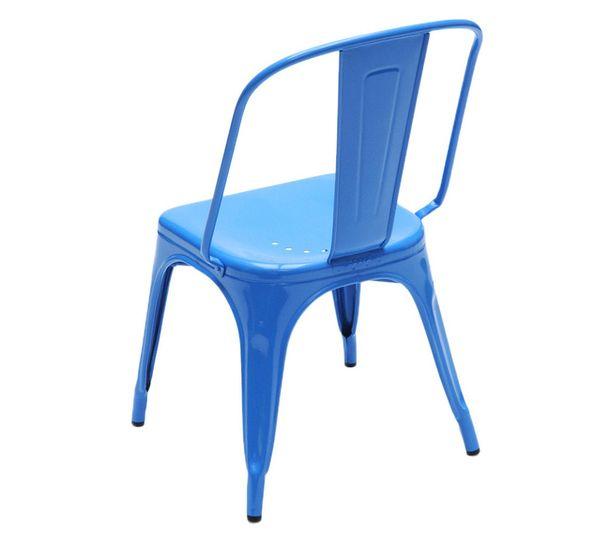 Син градински стол