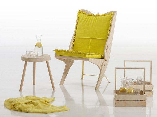 Развлекателен стол в градината