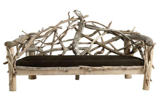 Градински диван от Луис Крузо