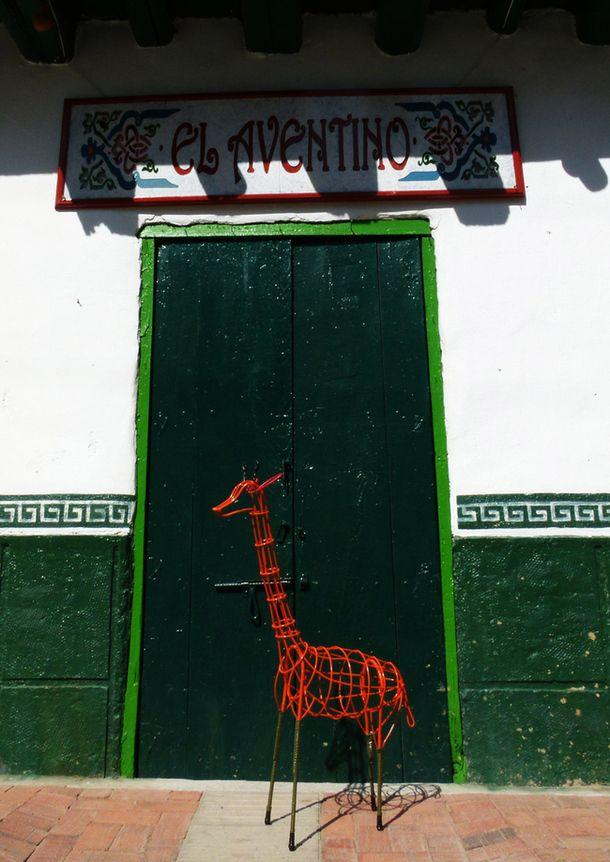 Красиво обзавеждане във формата на жираф