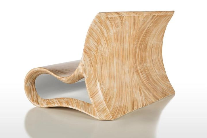 En original stol for en terrasse eller hage