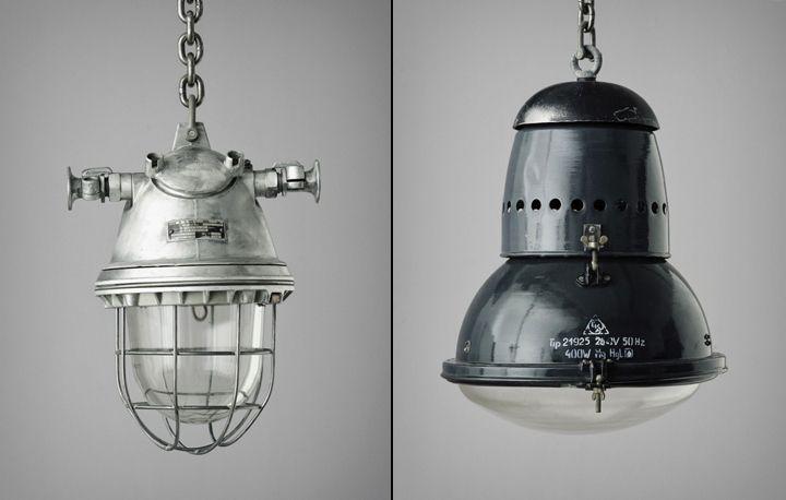 Оригинальные лампы Vintage Industrial от Matt Szaplonczai